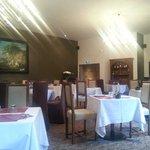 Une salle à manger des plus luxueuse