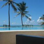 vue bar piscine principale