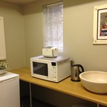 Kitchenette in the family suite of Anne's Place