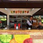 Manuel the waiter lovely guy!!