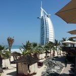 spiaggia e burj al arab