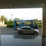 Transporte dentro do Hotel