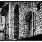 old world brick construction