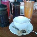 Kaffee und Säfte