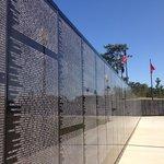 Replica of the Vietnam Memorial