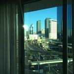 A balcony in Vegas!