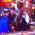 Tuba Luba playing at Marcela's on Mardigras 2014