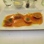 duck foie gras ravioli