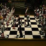 Espectacular juego de ajedrez