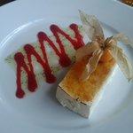 Silken tofu brulee