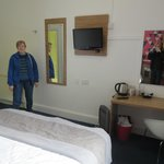 Bedroom, room 217, Cityroomz Edinburgh