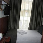 Single room upon entry - large windows with street views