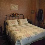 Rose Room - lovely with view toward the front of the house