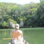 Paddling to San Ignacio
