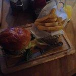 Fabulous burger & chips