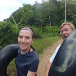 Cave Tubing - Old School Tubes are Easier to Maneuver!