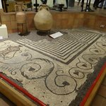 Wonderful mosaic well preserved - a beautiful floor
