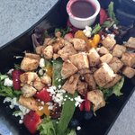 Grilled Chicken over our Summer Salad