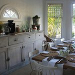 Lovely and welcoming dining room