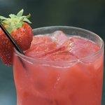 Fresh Strawberry Cocktail
