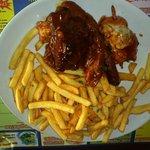 L'assiette BBQ