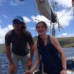 Captain Matt is a terrific sailor and a pleasure to spend the day with in the Caribbean!