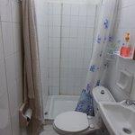 Very small bathroom