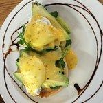 Avo eggs Benedict ! Yum