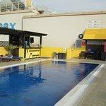 Pool mit Bar