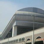 Skipiste Mall of Emirats vom Hotel gesehen