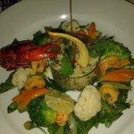 salades aux ecrevisses et quinoa