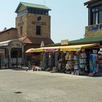 Some of the shops at Paphos harbour