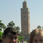 The mosque in Marrakech