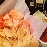 Chips and salsa at El Matador