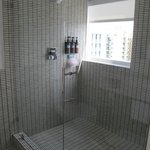 The super cool bathroom in the shower! LOVED it!