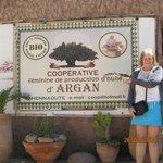 The argon oil factory on the Atlas mountain trip