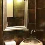 le lavabo du parvis