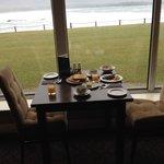 Beautiful views for breakfast