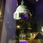 View from the bar of St. Paul's cathedral