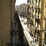 View from Room 308 looking toward Place de Jaume