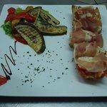 Bruschetta Regina et Légumes Grillés
