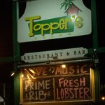 Toppers Sign