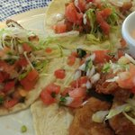 Fish Tacos at Castaways. Good.