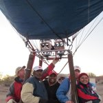 Sky ride w/Dad and U of A fans