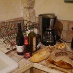 In the kitchen La Riviere
