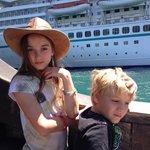 Very near the cruises