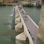 Mezquita-cathedral and bridge from tower