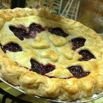 Scratch-made Wild Huckleberry Pie