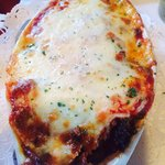 OMG stuffed shells add meat sauce! To die for!