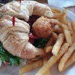 turkey sandwich w/bacon